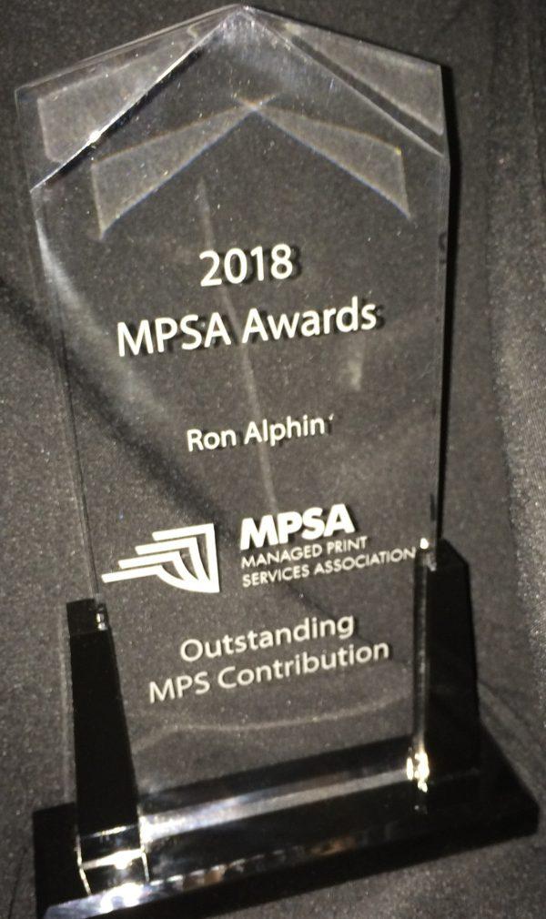 2018 MPSA Award